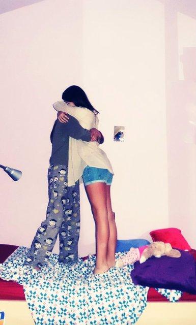 Prometeme que estaras aqui siempre.
