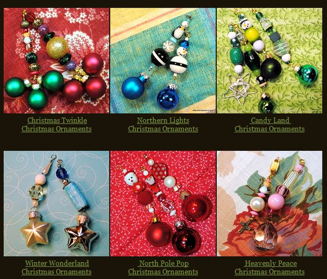 Beaded Jewelry for Christmas by Brenda Pokorny