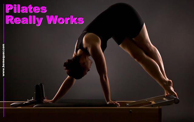 Pilates realmente funciona muy bien cuando se practica correctamente