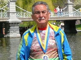 Exposición de atletismo, homenaje a Constantino Ramírez