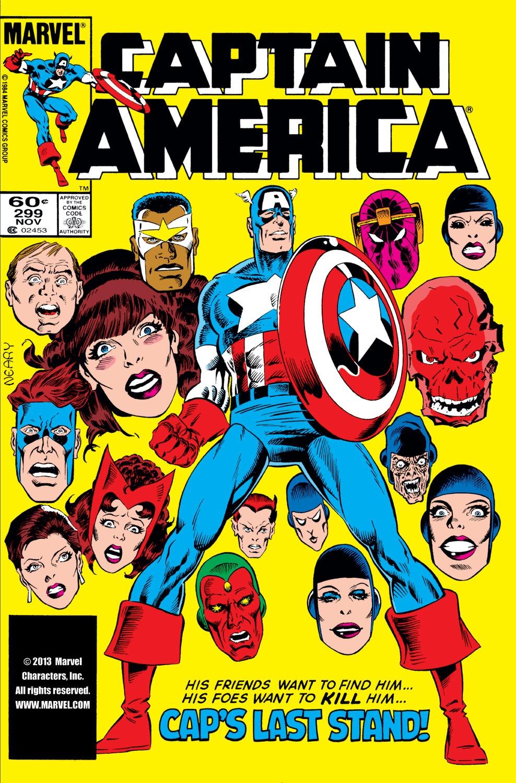 Captain America (1968) Issue #299 #227 - English 1