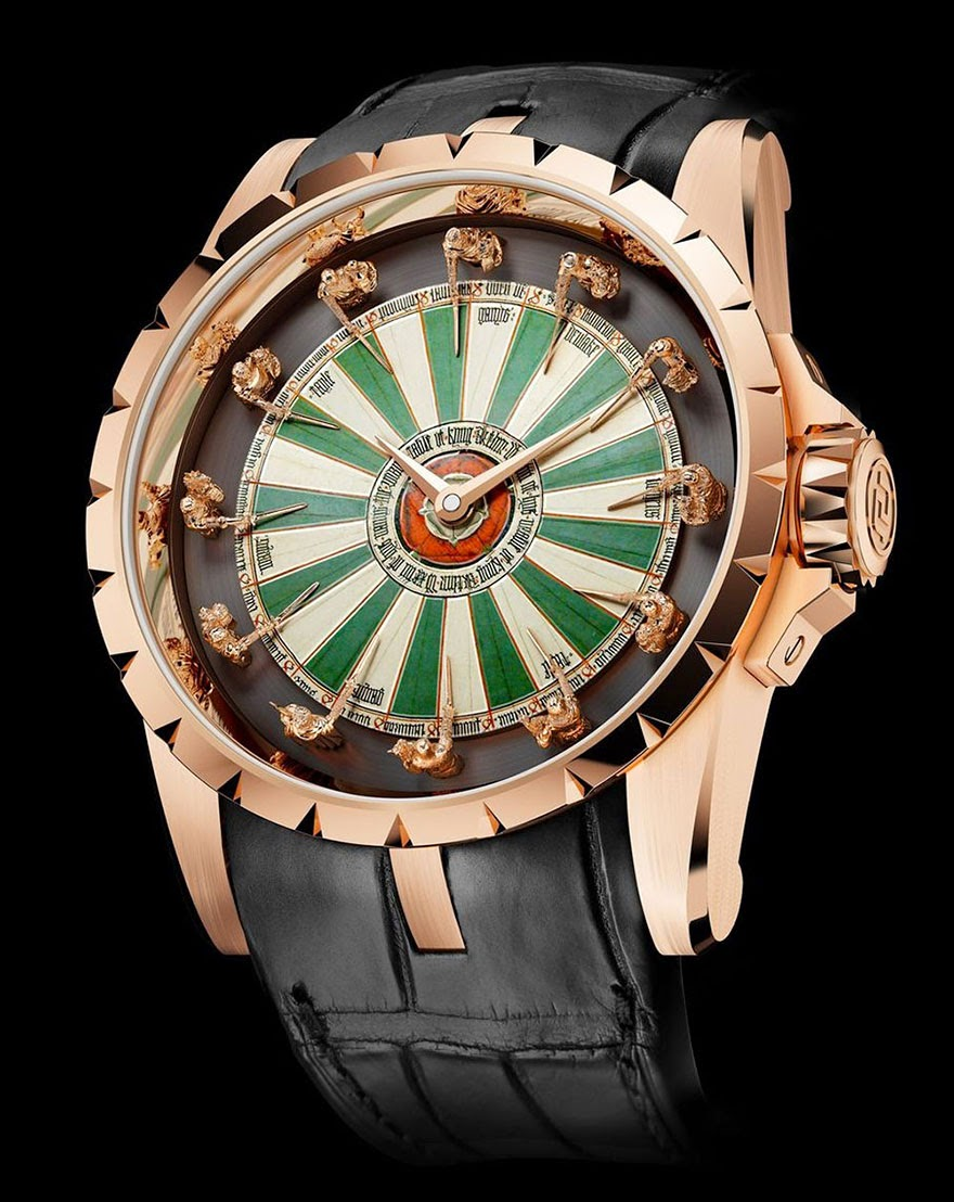 24 Of The Most Creative Watches Ever - Excalibur Watch