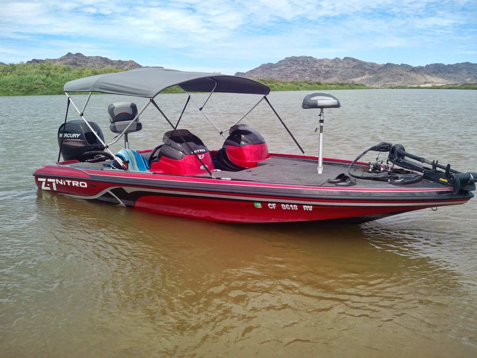 Nitro bass fishing boats for Bass fishing boat