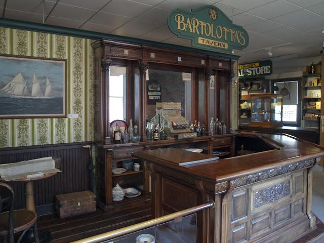 La Vieja Cantina en el Erie Canal Museum