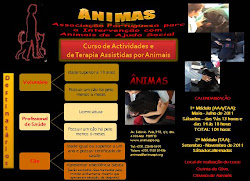 Curso de Actividades Assistidas por Animais!