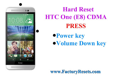 Hard Reset HTC One (E8) CDMA