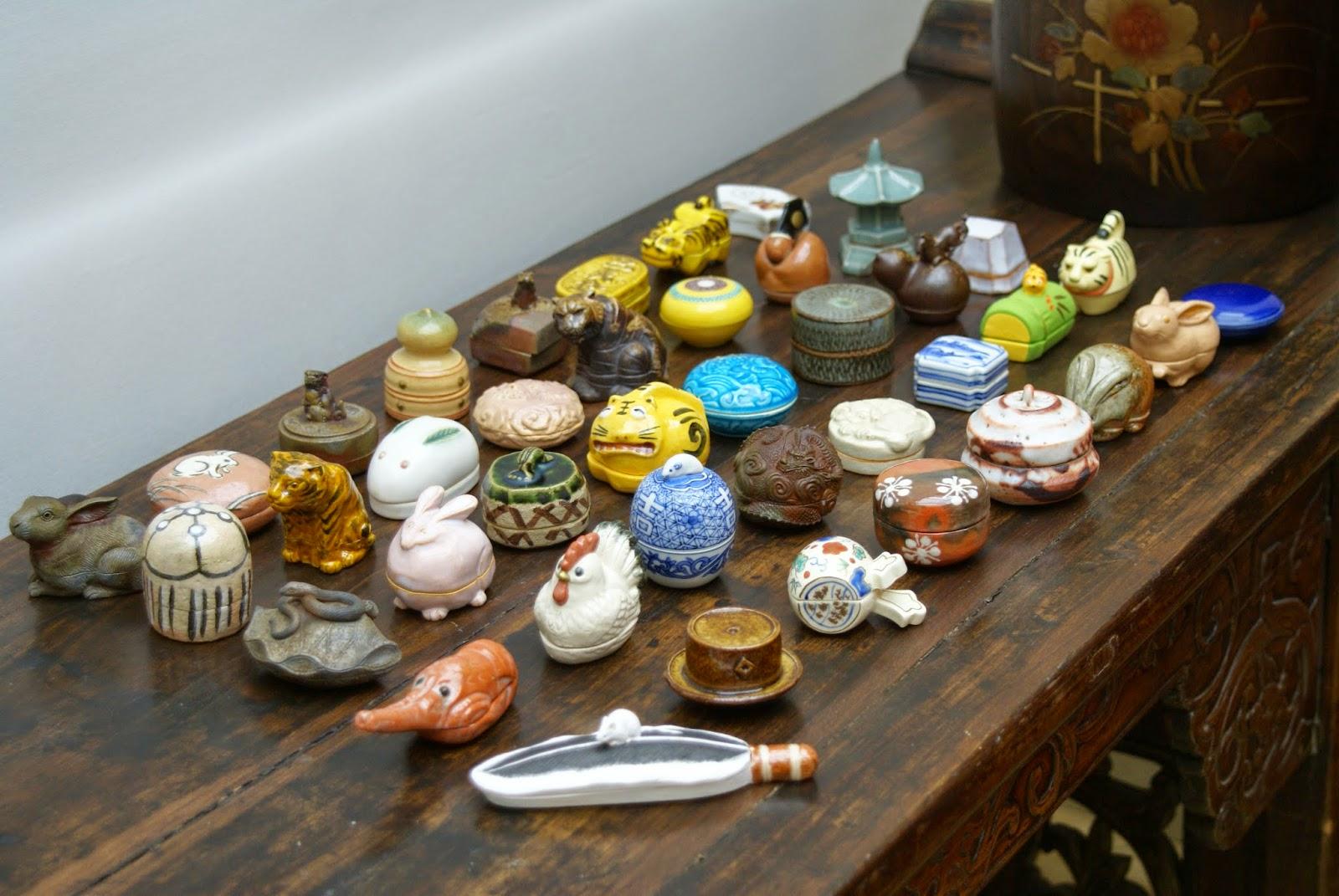 boites à encens en céramique