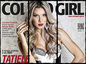 Ex-BBB Tatiele Polyana na Colirio Girl