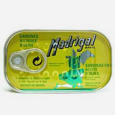 Madrigal Sardines in Olive Oil