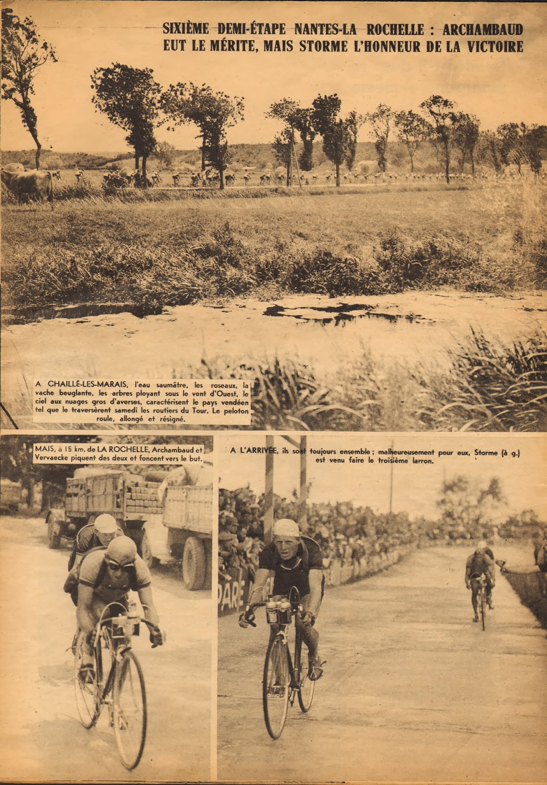 Cycling passions 33rd tour de france 1939 for Miroir des sports