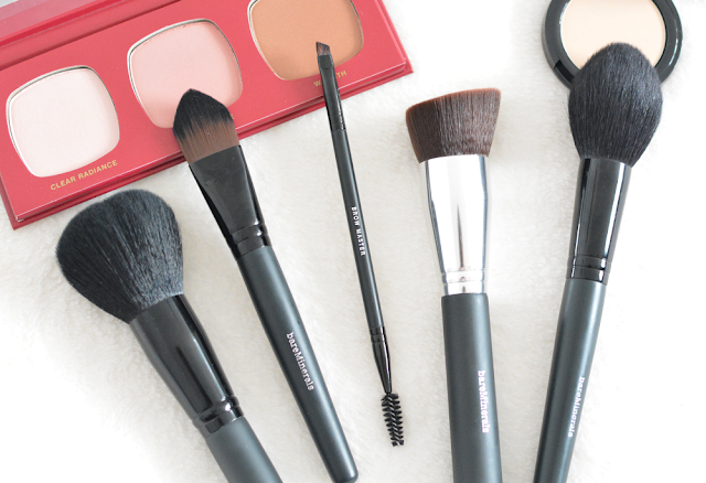 Bare Minerals, Tools and accessories, Make up brushes, Contouring, Powder, Blusher, Eyebrows, Foundation, Review