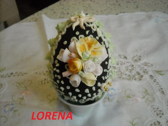 Le torte di lorena e non solo corso per uova di pasqua decorate - Uova di pasqua decorati a mano ...