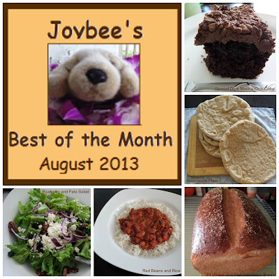 Best of the Month August 2013:  A recap of my most popular blog posts of August 2013.
