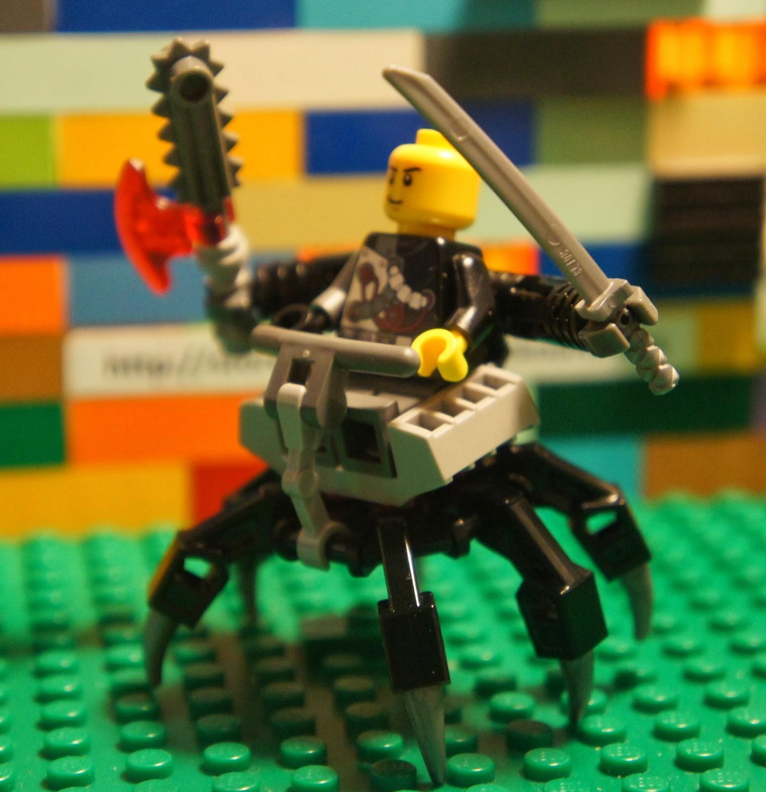 Lego Ninjago Nindroid Cyrus Borg Overborg Minifigure Mech