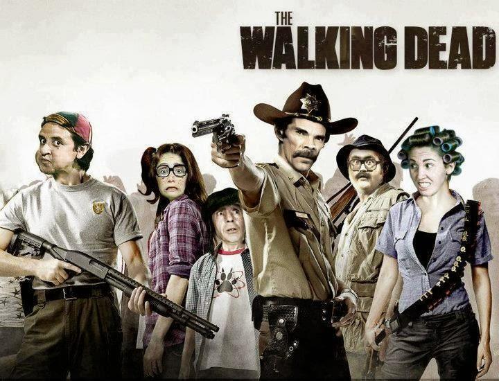 Memes of The walking dead.