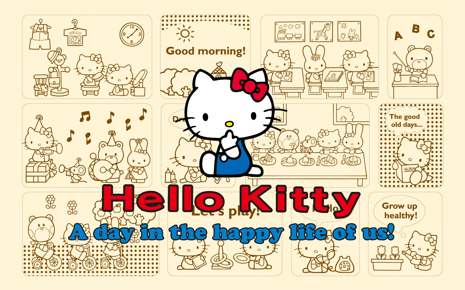 Est100 some photos hello kitty for Cassapanca hello kitty