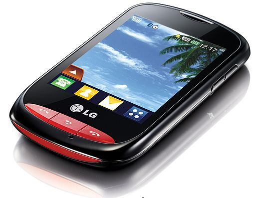 LG T325 3G-Wi-Fi mobile