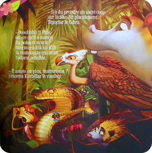 Le roi de la jungle de Nancy Guilbert et Florian Le Priol