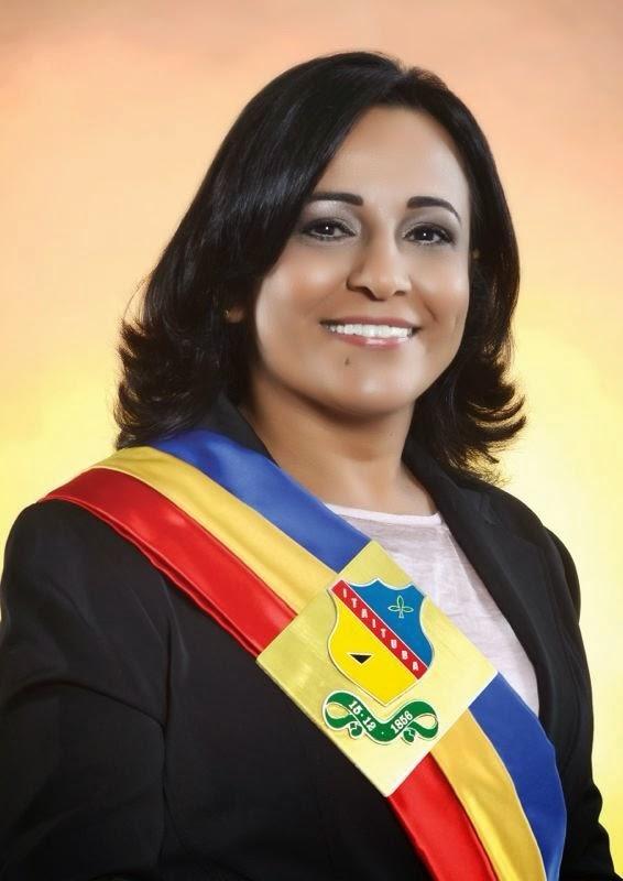 Prefeita  Eliene Nunes