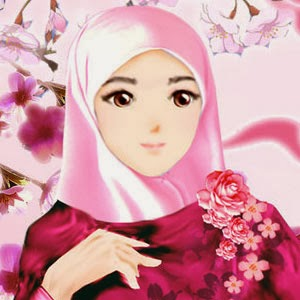 gambar muslimah cute