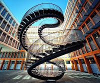Мюнхен лестница без начала и конца