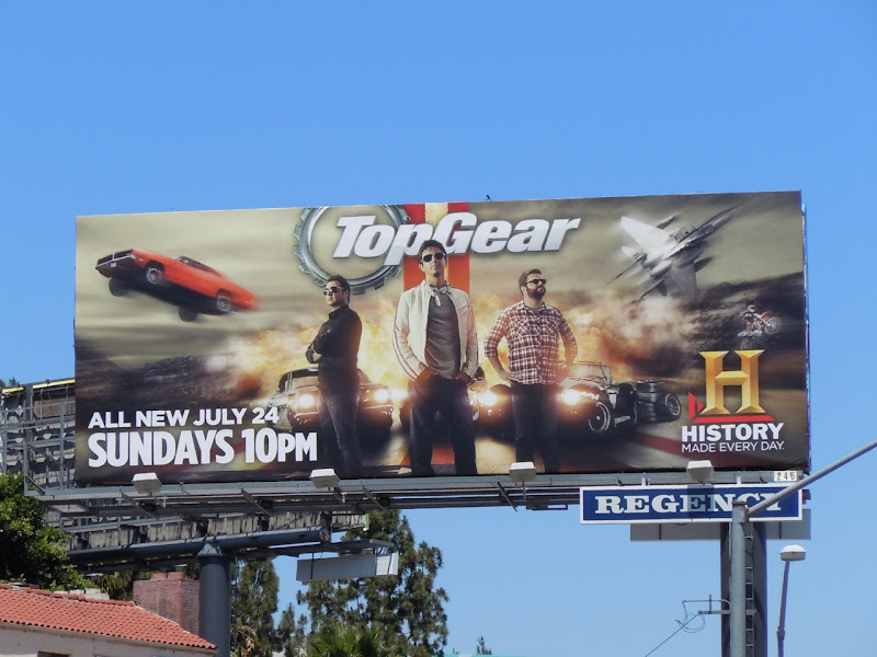 Top Gear USA season 2 billboard
