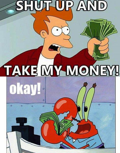 Mr Krabs Vs Fry