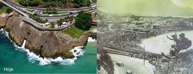 Mirante do Leblon, hoje um ponto turístico do Rio