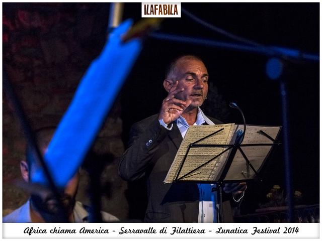 Africa chiama America - Serravalle di Filattiera - Fabio Cristiani - Lunatica Festival 2014