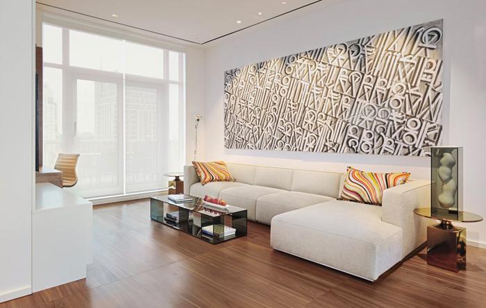 Casas minimalistas y modernas piso moderno en toronto for Pisos de apartamentos modernos