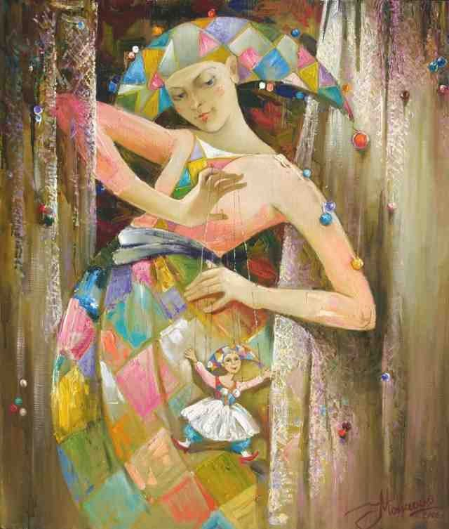 Российская художница. Анжела Моисеенко