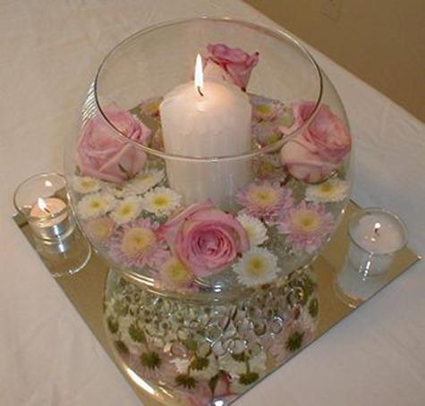 Centros de mesa para bautizos con velas parte 4 - Centros con velas ...