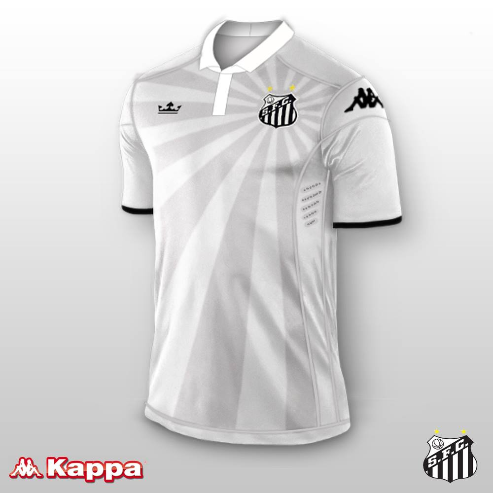 E se fosse assim - Santos Futebol Clube (SP) - Show de Camisas f27d5f1c50d18