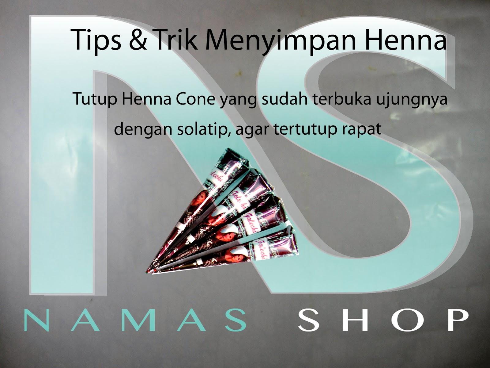 Namasshop Tips Amp Trik About Henna