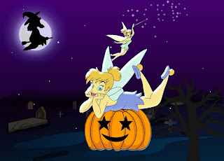 Tinkerbell Halloween Wallpaper