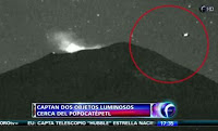 Avistamiento Ovni en el Volcán Popocatéptl. Febrero 2013