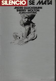 """Silencio se mata"" - A. Glucksmann"