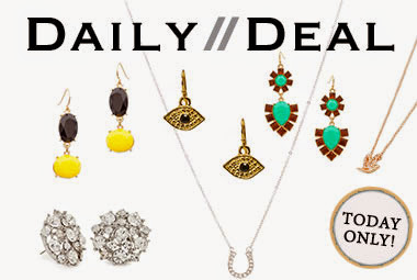 Today only, your chance at sparkling symbols! Snag dove and horseshoe pendant necklaces and stateme