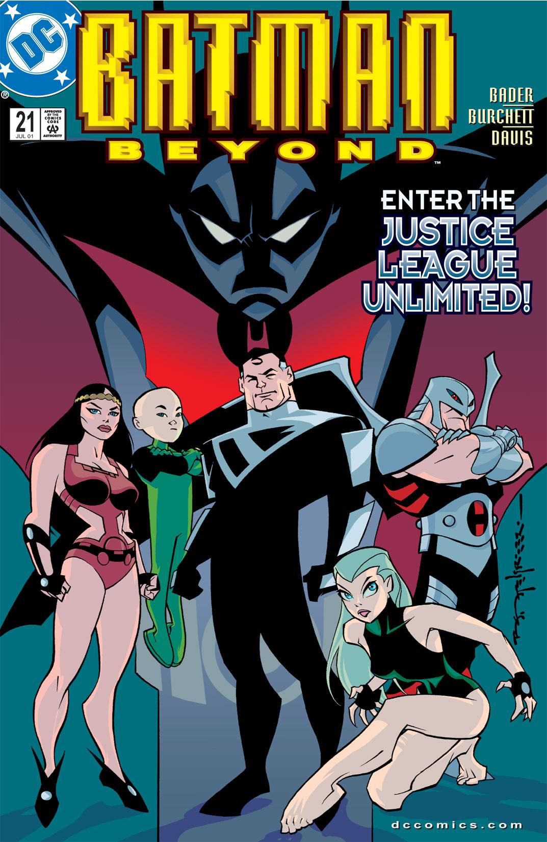 Batman Beyond [II] Issue #21 #21 - English 1