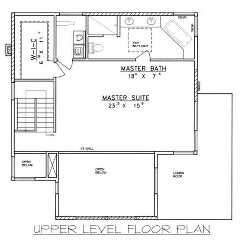 Planos y fachada de una vivienda dise ada en 3 pisos con - Plano de una casa ...
