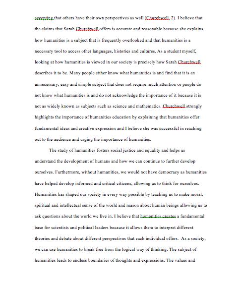 topic environment essay rogerian