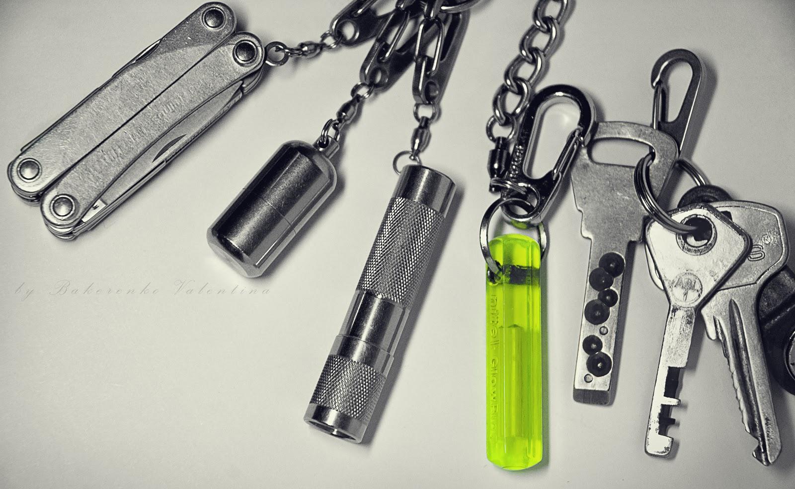 Кто что носит на связке ключей