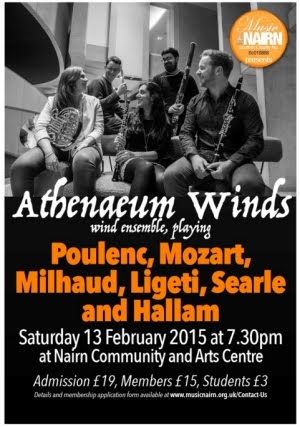 Music Nairn Sat 13th Feb