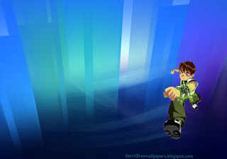 Ben 10 Ten desktop Wallpapers Ben Ten Running for life in Crystal Landscape desktop wallpaper