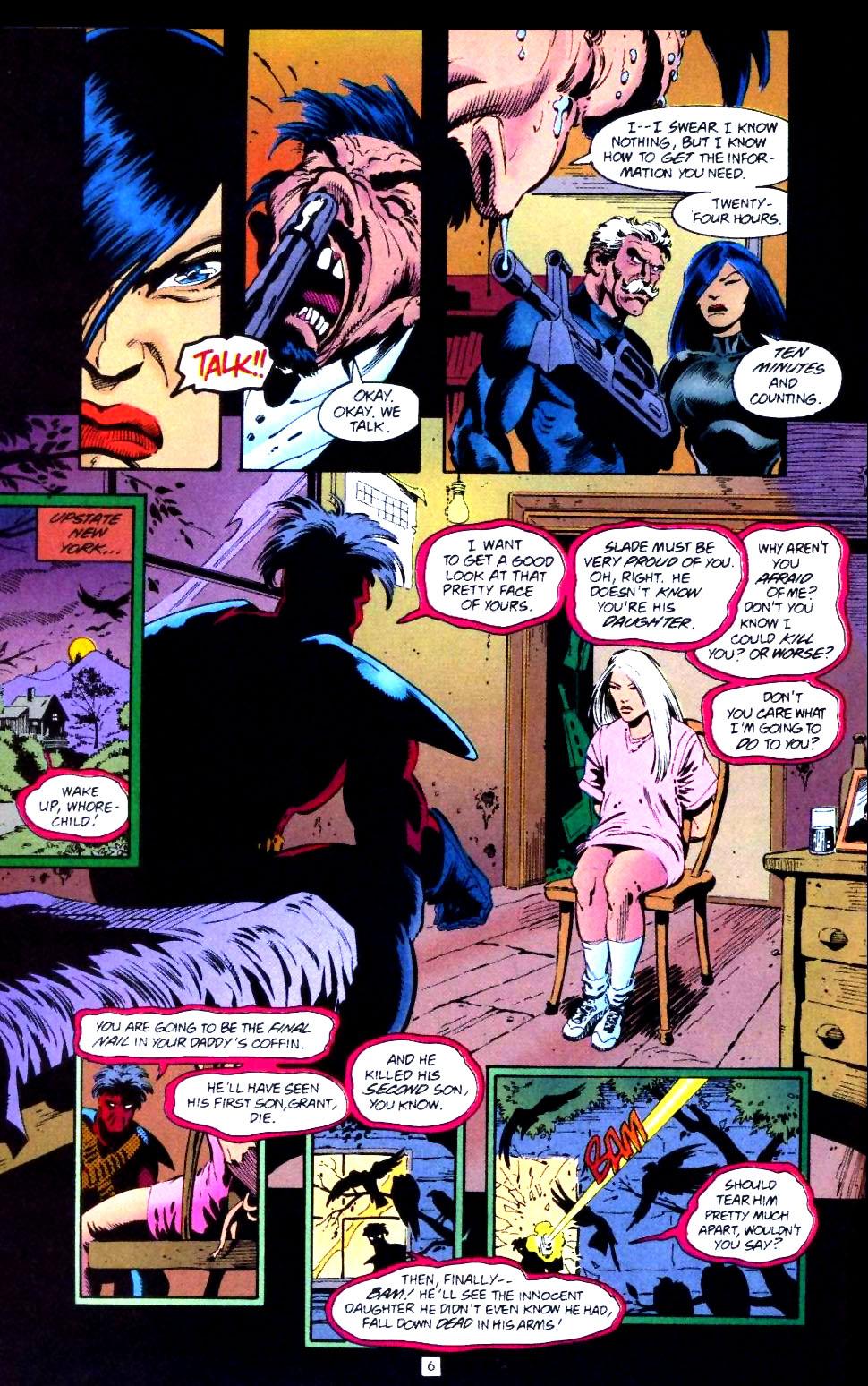 Deathstroke (1991) Issue #43 #48 - English 7