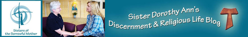 Discernment & Religious Life Blog