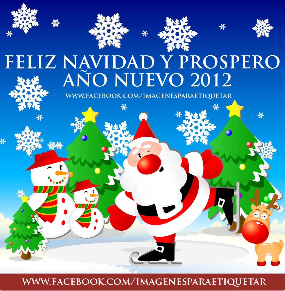 Nuevas Frases de Navidad para muro de Facebook 2012