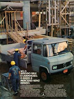 Mercedes-Benz. 1972; brazilian advertising cars in the 70s; os anos 70; história da década de 70; Brazil in the 70s; propaganda carros anos 70; Oswaldo Hernandez;