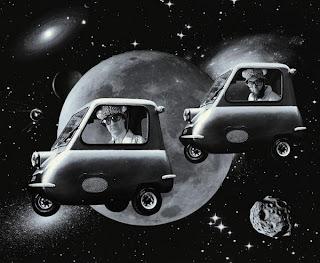Kosmiczne rydwany - Dariusz Orwat