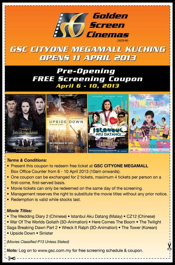Big cinemas discount coupons